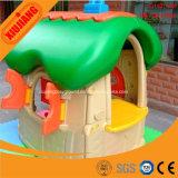 Дом игры оборудования парка атракционов малышей малая пластичная