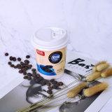Bebida caliente Compostable aislado de doble pared de papel Biodegradable tazas de café con recubrimiento PLA