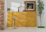 Carta da parati della gomma piuma del PE della pietra del mattone dell'autoadesivo 3D della parete di disegno di DIY