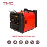 gerador de potência portátil da gasolina do começo 3kw elétrico com Ce, ISO9001