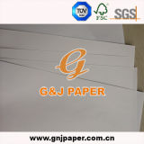Überzogenes weißes SpitzenTestliner Papier mit preiswertem Preis