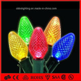 Zeichenkette-Licht des China-Großhandelsmehrfarbenweihnachtsdekoration-Licht-Feiertags-Licht-LED C7 C9