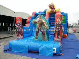 Saleのための2016新しいDesign Commercial Inflatable Avengers Theme Slide