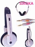 Performances audio haut de gamme métal Casque Écouteurs avec microphone