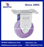Фиолетовый цвет самоустанавливающегося колеса для прицепа