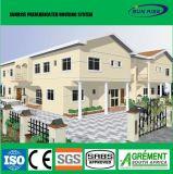 Estructura de acero de 2 plantas prefabricados de lujo en construcción