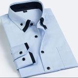 두 배 고리 남자의 예복용 와이셔츠/Button-Down 복장 남자의 셔츠