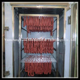 دجاجة تركيا طعام يدخّن آلة