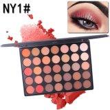 Водонепроницаемый Eyeshadow палитра 35 цветов палитры для макияжа порошка косметики