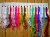 고품질 스웨터를 위한 100%년 캐시미어 천 뜨개질을 하는 털실