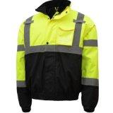 均一工場反射縞のWorkwearの交通安全の冬のジャケット