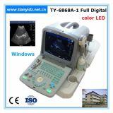 Color del LED portátil 10 elsistema de ultrasonidos totalmente digitalpara el examen obstétrico