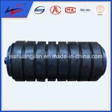 Heavy Loading를 위한 컨베이어 Impact Rubber Roller