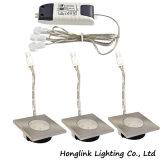 Ce 12V 1.5W загорается светодиод площади мебели шкаф освещения