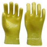 Красочные водонепроницаемая ПВХ стороны зимние рабочие перчатки