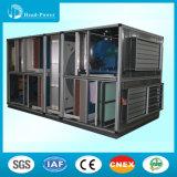 Limpiar el tipo aire fresco del cambiador de calor de la recuperación de calor de la rueda del aire acondicionado que maneja la unidad