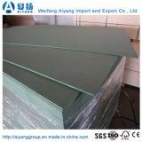 MDF Melamina de color verde cubiertas de papel de Shandong