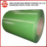 Hoja de techos revestidos de color de la bobina de acero galvanizado recubierto de color/Prepainted PPGI