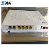 Versão inglesa (ZTE f660 V5.0) FTTH Gepon moderno ONU com 4fe+2pots+WiFi+1USB