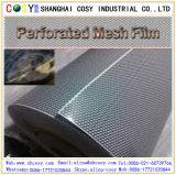 Стикер зрения Perforated винила односторонний с высоким качеством