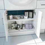 bacino bianco dell'unità di vanità della stanza da bagno del MDF di lucentezza di 550mm