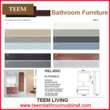 Style moderno e nessun Include Faucet Customized Tempered Bathroom Vanity