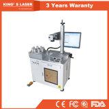 машина маркировки лазера 200*200mm 30W СИД светлая автоматическая