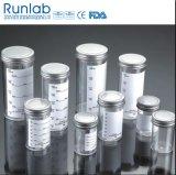 Contenitori di campione approvati 250ml del Ce e della FDA con la protezione del metallo