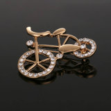 VAGULA Clássico Rose Gold Plated Rhinestone Jewelry Brooch