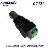 Adapter Weibchen CCTV-BNC mit Schrauben-Terminal (CT121)