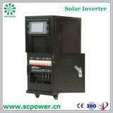 2kVA à l'inverseur hybride d'énergie solaire de relation étroite de réseau de la bonne qualité 120kVA