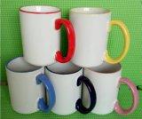 15 once in bianco e nero di ceramica & tazza di caffè