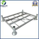 Cremalheira industrial galvanizada quente resistente Stackable da pálete