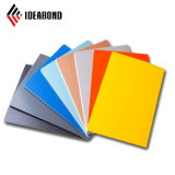 Incombustible de mejor calidad de material compuesto de aluminio paneles de publicidad