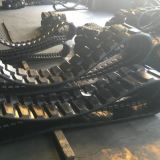 chenille en caoutchouc de l'excavateur (400x75.5KX74) pour la machinerie de construction