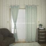 Clásica Jacquard hilados de distintos colores y piezas teñido tela de la cortina
