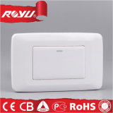 Vasto Rocker 1 Gang Electric Wall Switch con Light