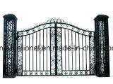 Porta de alumínio decorativa da segurança da casa/jardim do ferro feito de qualidade superior