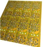 黄色いSoldermaskのカスタマイズされた二重側面の堅いPCBのサーキット・ボード