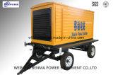 Arranque eléctrico de 24 V Generador Diesel Tráiler de Portable