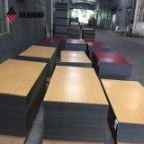 Preço fabricante olhar madeira Painel Composto de alumínio
