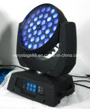 lumière principale mobile de zoom de lavage de 36PCS 10W DEL