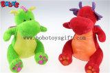 Neue Entwurf Fanshion Geschenke füllten grüner Dinosaurier-Tiere mit purpurrotem glänzendem Wingsbos1202 an