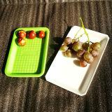 Plastiktellersegment des neue Art-Wegwerfnahrungsmittelgrad-pp. für Fleisch-essbare Meerestiere und Gemüse
