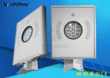 Heißer Verkaufs-intelligente Fernsteuerungssolargarten-Lampe mit Ce/RoHS/IP65/ISO