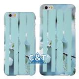 iPhone 6 Plus를 위한 꽃 Stripe Hard Mobile Phone Cover