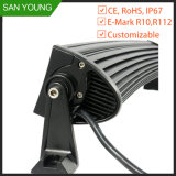 Light LED Bar 120W 20 pouces Amber LED Light Bar, High Lumen LED Bar, 40PC * 3W LED Chip Light Bar