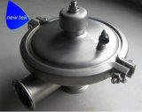 Válvulas de presión constantes sanitarias del acero inoxidable
