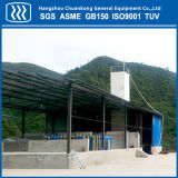 Pianta industriale di separazione dell'aria della strumentazione del gas