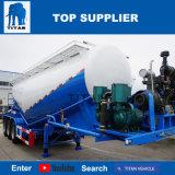 두바이에 있는 대륙간 탄도탄 차량 3 차축 40ton 시멘트 Bulker 트레일러